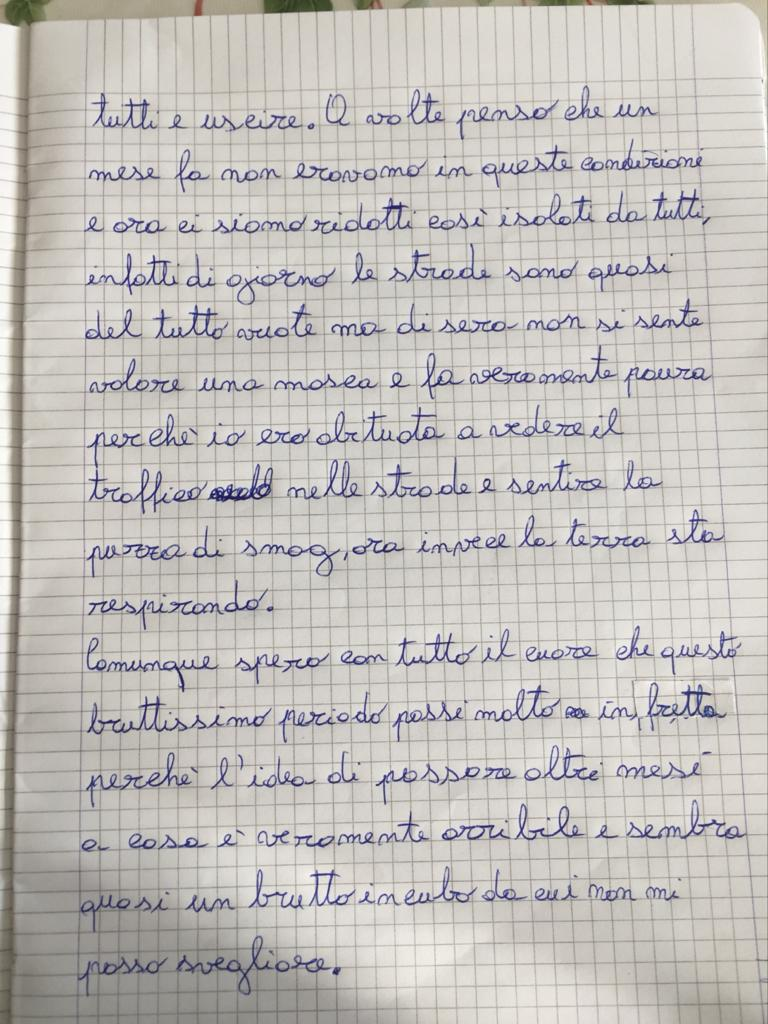 Aurora Scarantino 10 anni (Italia) - Ai tempi del coronavirus pagina 2