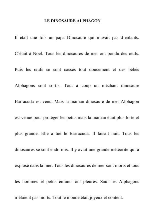 LE DINOSAURE (1)